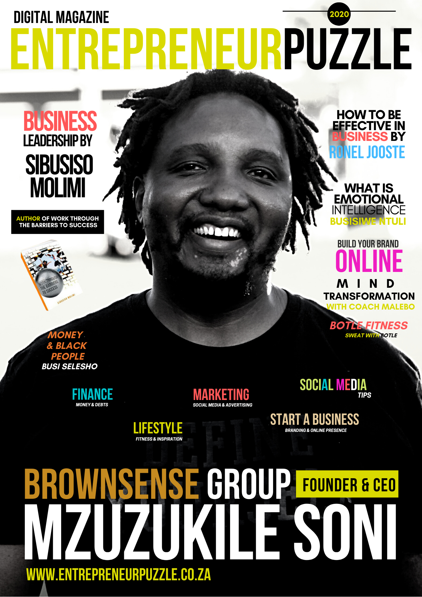 Entrepreneur Puzzle Digital Magazine 5th Edition